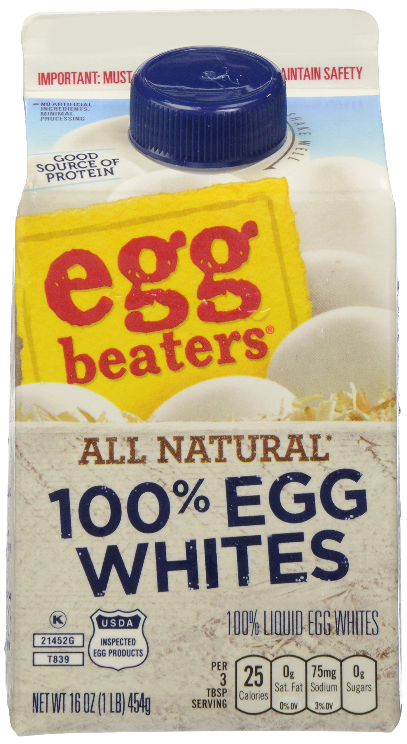 Egg Beaters, Refrigerated Egg Whites, 15 oz