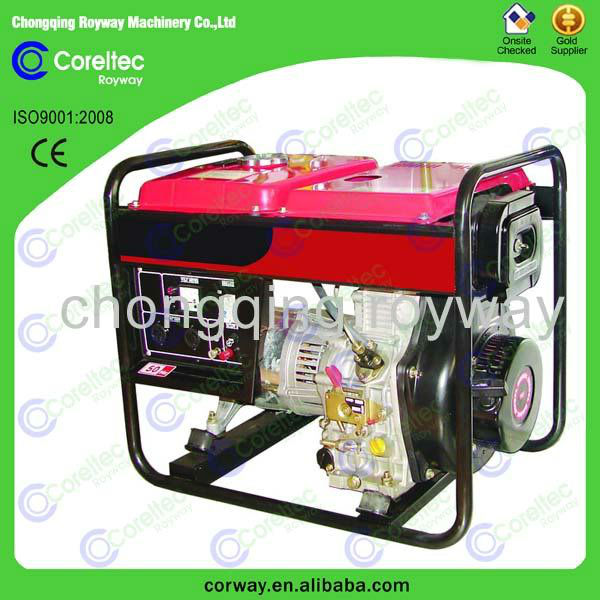 diesel generator with air cooled single/three phase, CE&ISO certification old diesel generators