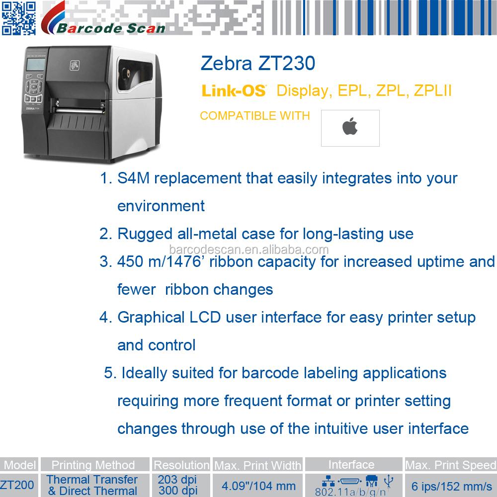 China Zebra Thermal Label Printer, China Zebra Thermal Label