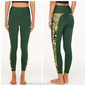 d9131813f4 Recycled plastic bottles fabric your own design women sublimation yoga pants