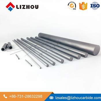 Raw Material K10 K20 Drill Cutting Tool Tungsten Carbide Rods from Lizhou Hunan Factory