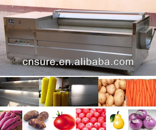 Sweet potato peeling Machine Mango Kiwi Peeling Machine Roller Peeler