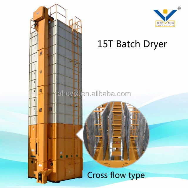 grain dryer maize dryer with high quality screw conveyer