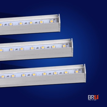 Edgelight waterproof led strip bar white 6500K led wall washer IP65