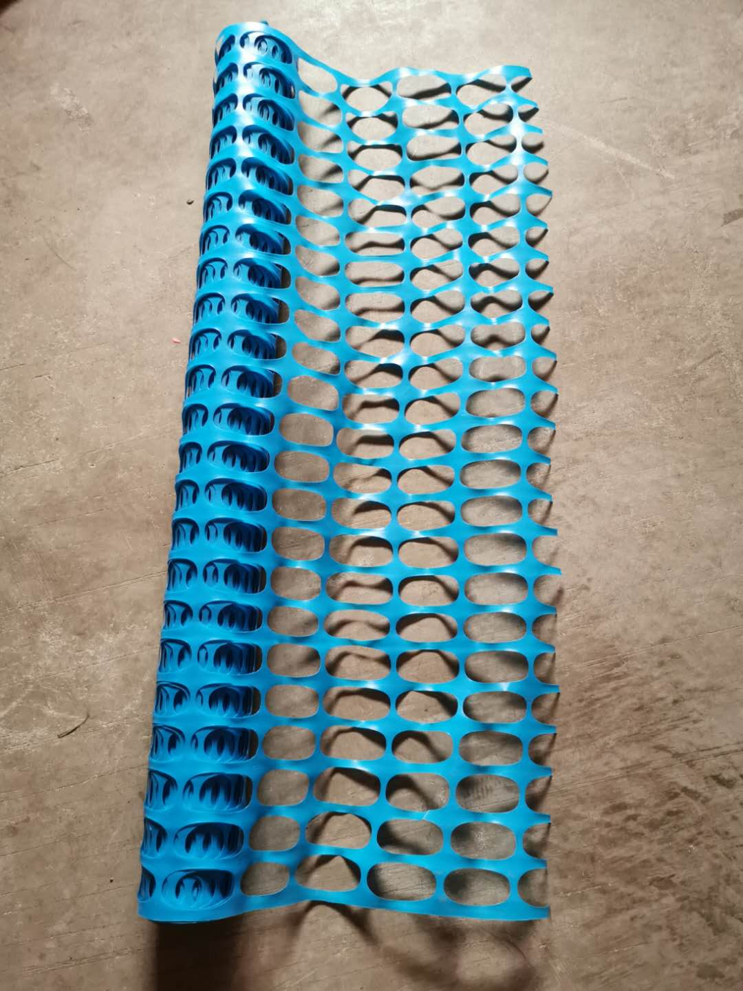 100% Virgin HDPE+UV Portable plastic orange construction safety mesh