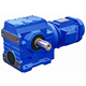 S SERIES A 57 HELICAL WORM GEAR SPEED REDUCER WITHOUT MOTOR