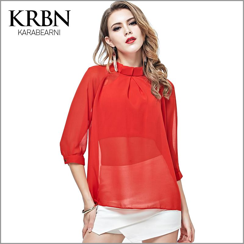 Camisas Con Volantes Rojos - Compra lotes baratos de