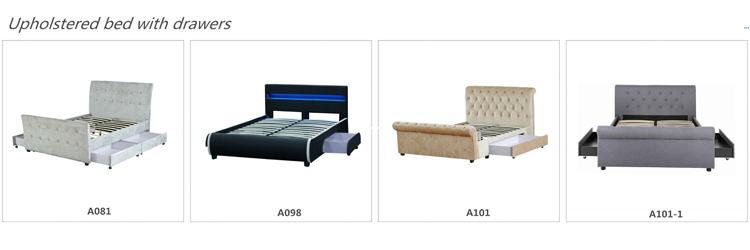 Free Sample Bedroom Sets Queen Hongkunmeisi Modern White