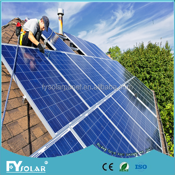 Top grade professional 37.2 Vmp/V Open Circuit cheap 260w solar panel