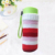 Drinking water bottle with knitted fabric sleeve glass fashion crochet thermal hot
