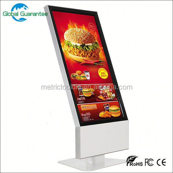 full HD digital signage 42 inch vertical lcd display