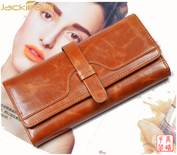 Genuine Leather Brand Import Wallets Famous In China 2017