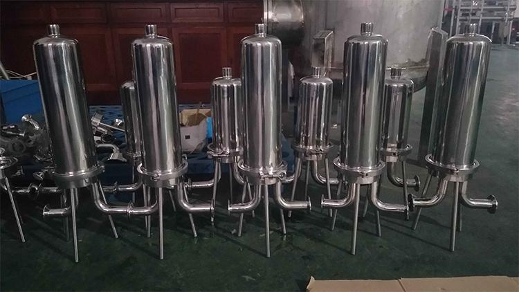 Kelas Medis Stainless Steel Kimia Housing Filter untuk Industri