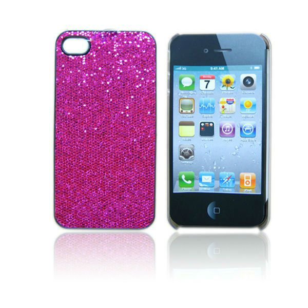 bling bling cloth cell phone case for iphone 4/4s