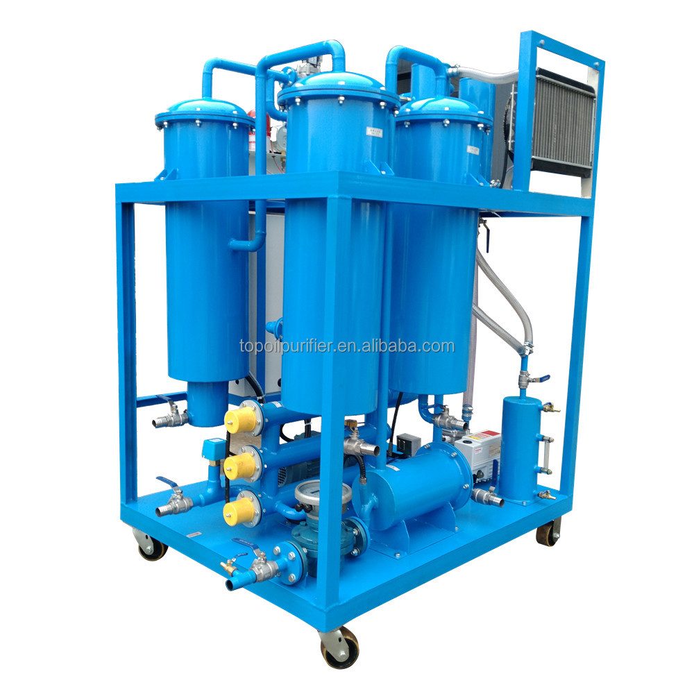 12000L/H Vacuum Waste Turbine Oil Purifier to Filter Out Soap, Gelatin, Acid, Pigment and Metal Particulates