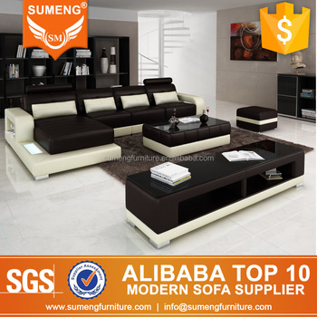 Foshan Sumeng Furniture Co., Limited - Modern Leather sofa, Coffee table