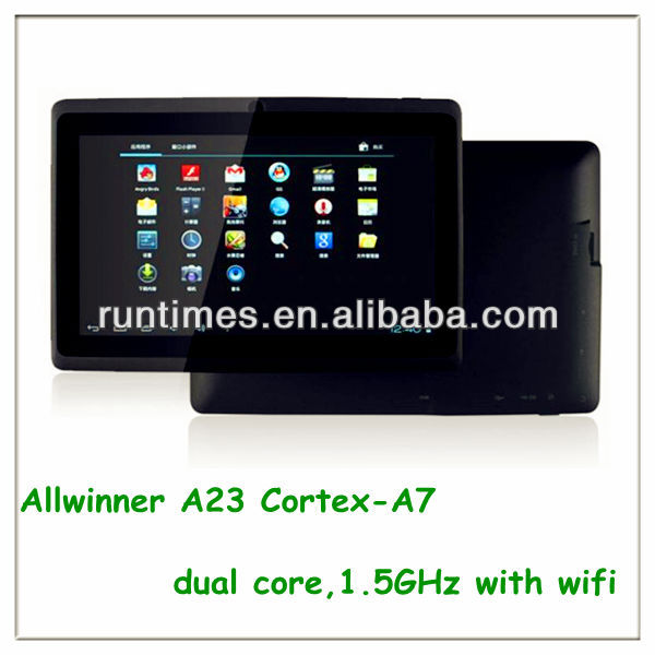 7 pulgadas boxchip a10 tablet pc android 4.0 512 mb ram4gb fabrica precio hecha en china.
