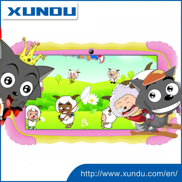 "kid tablet XD-7018 RK3126 IPS 7"" 1024*600 android 5.1/4.4"