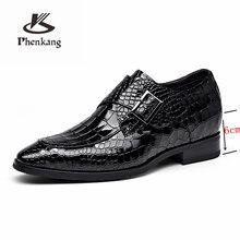 Мужские Формальные туфли из натуральной кожи, оксфорды для мужчин, черные, красные модельные туфли, свадебные туфли, шнурки, Кожаные броги ...(China)