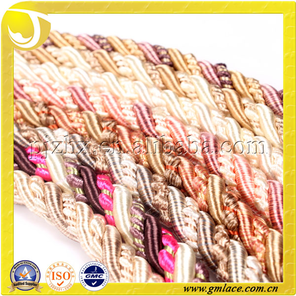 Twisted Cord Rope For Curtain Tie Back Pillow Sofa Chair Flags ...