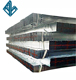 Tianjin factory production specifications 120*120 hollow section square steel hot-dip galvanized square tube