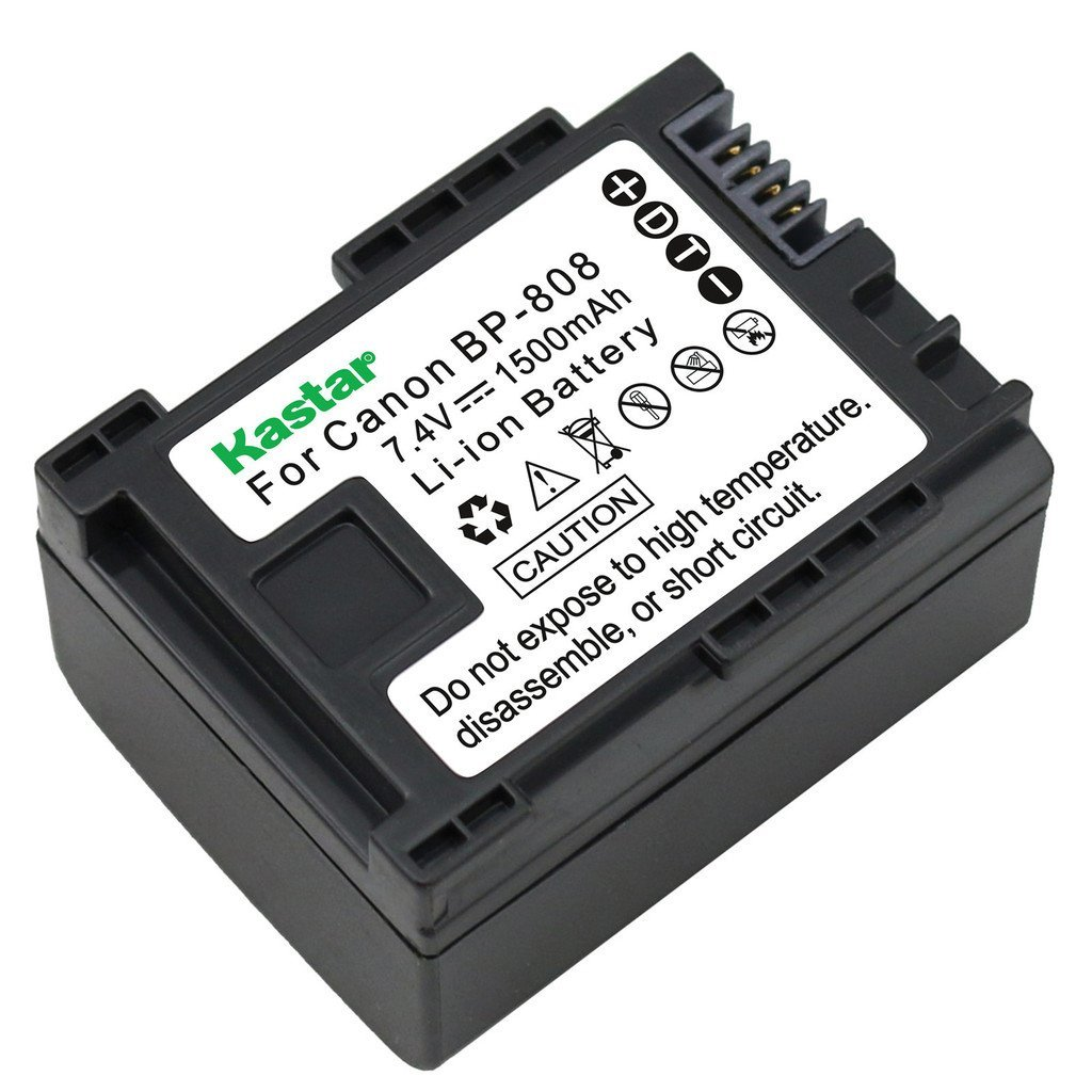 VINTRONS 1780mAh Battery for Canon FS10 Flash Memory Camcorder,