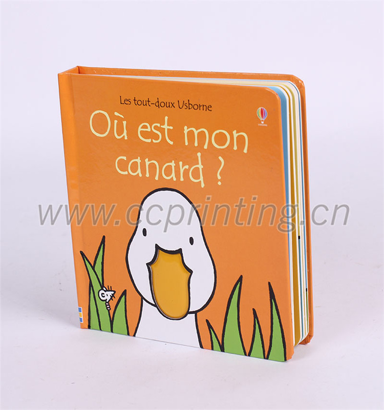 child board hardcover book printing