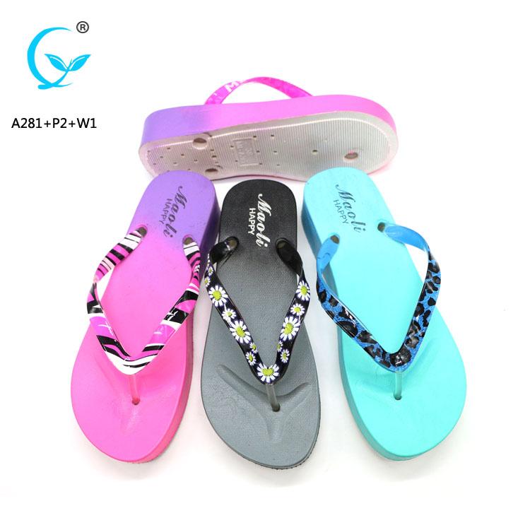 Die cut with replaceable strap flip flops factory flip flops sandals