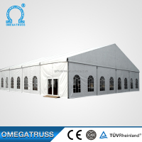 Wholesale custom Aluminum 6061T6 clear roof cheap wedding tent