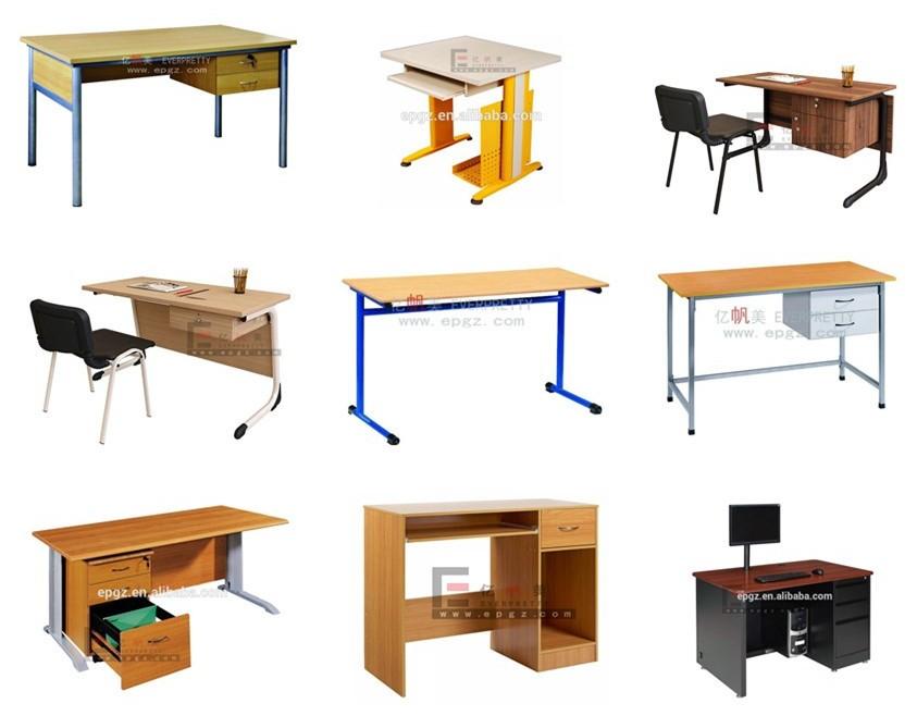 Alibaba Supplier School Office Furniture Teacher Table