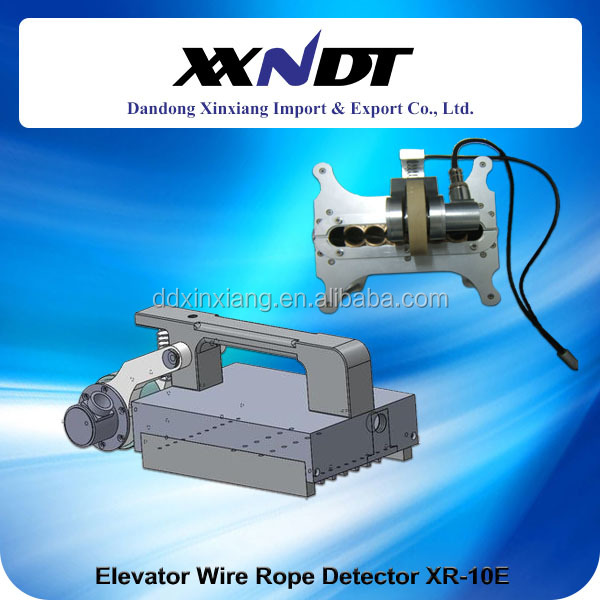 Lifting Wire Rope Inspection - Buy Elevator Wire Rope Flaw Detector ...