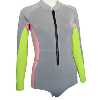 BIKINI Cut Lady Short Spring Suit 2MM Boody Wetsuit