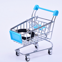 Mini Shopping Cart Supermarket Trolley cart children toy gift carts