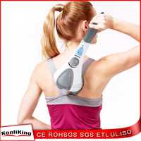 Excellent Quality Handheld Vibration Heating Dual Head Percussion Massager with Factory price