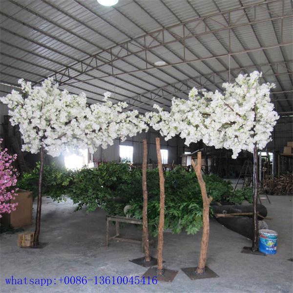 White Tree Wedding Decor Hotsale Artificial Cherry Blossom Arches
