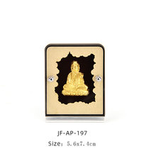 Fengshui буддийские украшения, украшения из золотой фольги, подарки на удачу, украшение для рабочего стола автомобиля, украшение для дома и офис...(Китай)