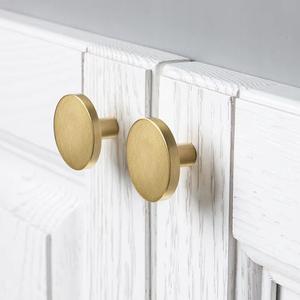 Cheap Round Brass Drawer Furniture Handle cabinet knobs handles