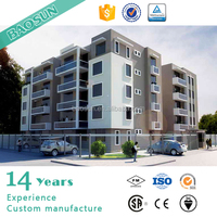 Four Storey Prefabricated hotel building price