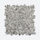 chinese glass mosaic quality penny items mosaic tile grey
