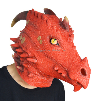 Partygears Masquerade Party Mask Realistic Latex Dragon Mask Custom Animal  Mask - Buy Latex Dragon Mask,Masks Masquerade Party,Realistic Latex Mask
