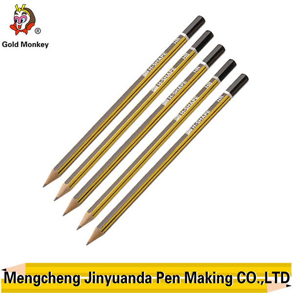 Lastest new arrival hb pencil with black paint Writing Instruments