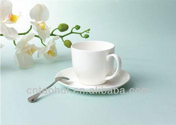 280ml White Bulk Tea Cup And Saucer