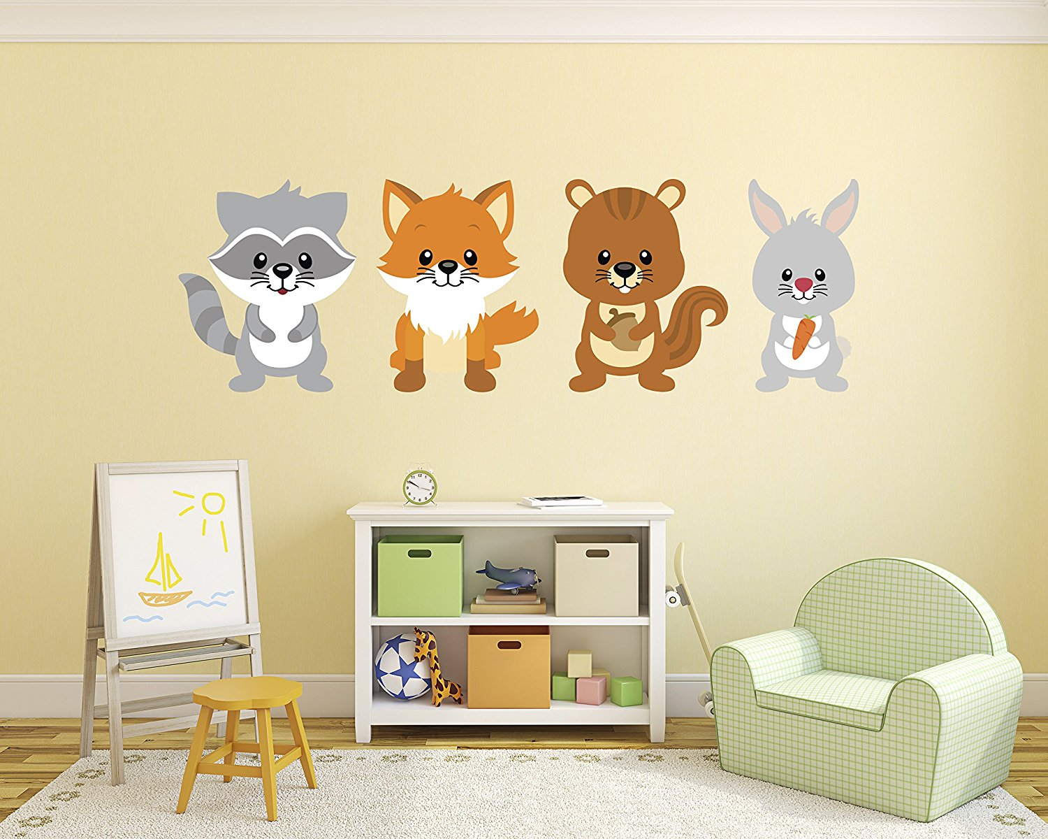 Buy Girl Jungle Wall Decal set-Nursery Wall Decals-Wall Stickers ...