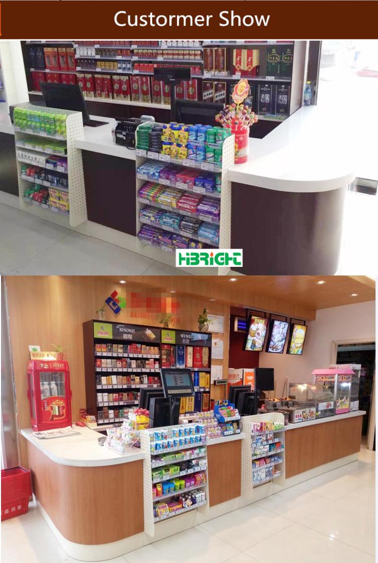 Cashier Table Desk Design Supermarket Checkout Counter