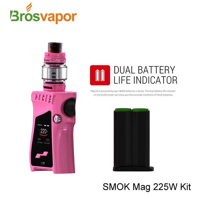 100% Original Hot Sale 8ml Big Capacity And 225W Vape Kit SMOK Mag Kit Standard Edition