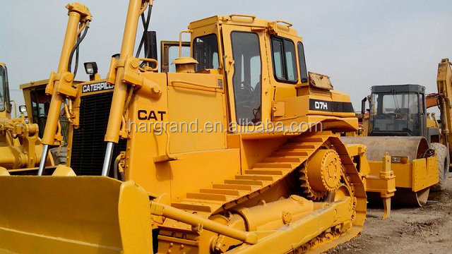Used Cat D7h Bulldozer With Angle Blade Ripper,Good Quality Cat D6d D6c D6g  D6r Bulldozer - Buy Used Caterpilar Bulldozer,Used Cat D7h Bulldozer With