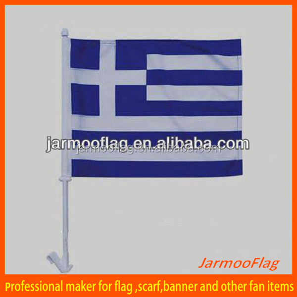 soccer team nice Greece Car window Flag