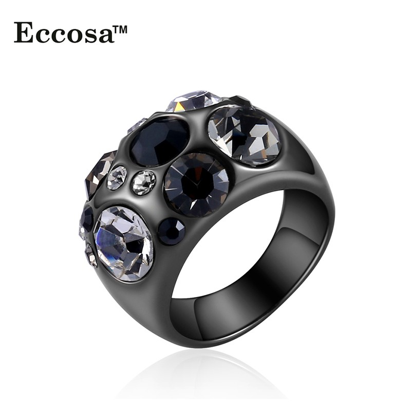 Beautiful  Fashion Women39s Finger Rings Jewelry Made 316L Stainless Steel Gold