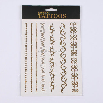 custom temporary tattoos paper