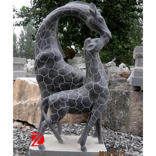 Black Stone Garden Giraffe Statue With Cub   Buy Garden Giraffe Statue,Stone  Garden Giraffe Statue,Black Stone Giraffe Statue Product On Alibaba.com